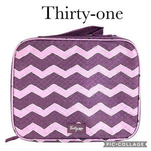 Thirty One Cool Case Thermal Plum Chevron